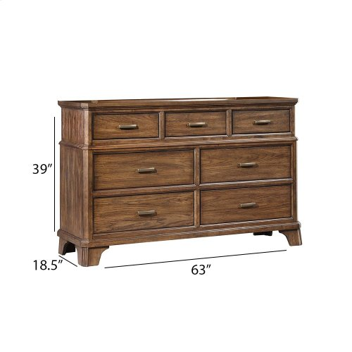Bedroom - Telluride Seven Drawer Dresser