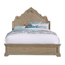 Monterey Queen Bed Footboard and Slats in Sandcastle Beige