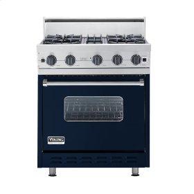 "Viking Blue 30"" Open Burner Range - VGIC (30"" wide, four burners)"