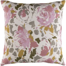 """Kalena KLN-004 20"""" x 20"""" Pillow Shell with Polyester Insert"""