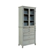 Mineral Metal Dispensary Cabinet