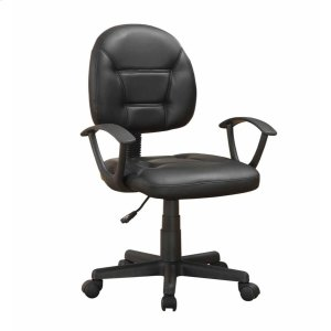 CoasterContemporary Black Office Chair