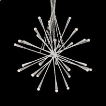 28-LIGHT PENDANT - Chrome