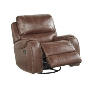 Keily Brown Swivel Glider Recliner
