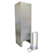 Island Hood Chimney Extension Kit (10-12ft) for vented hoods