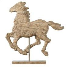 Spirited Horse Accent,Medium