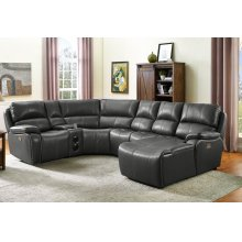 Lyra Power Armless Recliner W/pwr Hdrst
