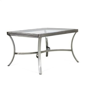 Extension Table With Clear Glass