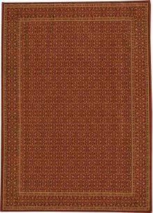 Hard To Find Sizes Chateau Rm01 Ruby Rectangle Rug 4' X 5'9''