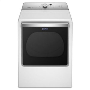 Maytag® 8.8 cu. ft. Extra-Large Capacity Gas Dryer with Steam Refresh Cycle - White - WHITE