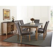 Debby Bluestone Table with 6 Chairs Product Image