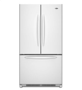 25 cu. ft. French Door Bottom-Freezer Refrigerator with BrightSeries Lighting Package