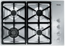 "30"" 4-Burner KM 3464 LP Gas Cooktop - 30"" SS Cooktop Hexa grate"