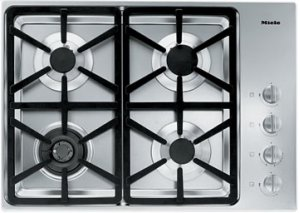 "DISPLAY MODEL 30"" 4-Burner KM 3464 G Gas Cooktop - 30"" SS Cooktop Hexa grate"