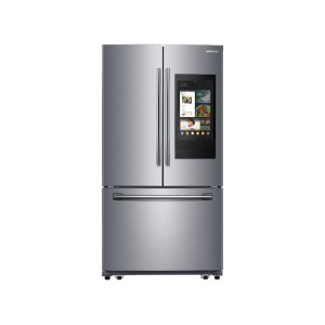 Samsung Appliances25.1 cu. ft. 3-Door French Door Refrigerator with Family Hub™ in Stainless Steel
