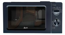 0.7 CF Manual Microwave Oven- Black