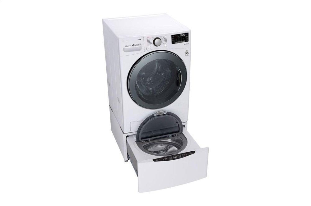 LG Appliances4.5 Cu.Ft. Smart Wi-Fi Enabled Front Load Washer With Turbowash™ 360 Technology
