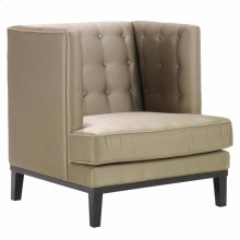 Noho Arm Chair In Champagne Fabric