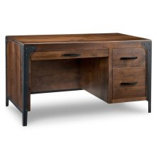 Portland Single Pedestal Executive Desk