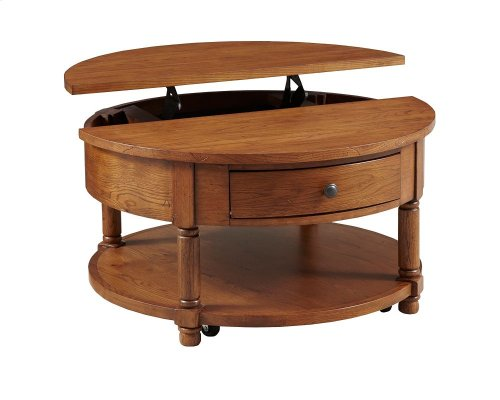 Attic Heirlooms Lift-Top Cocktail Table