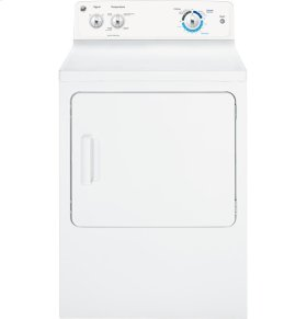 GE® 6.8 cu. ft. capacity Dura Drum electric dryer