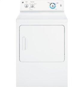 GE® 6.8 cu. ft. capacity Dura Drum electric dryer