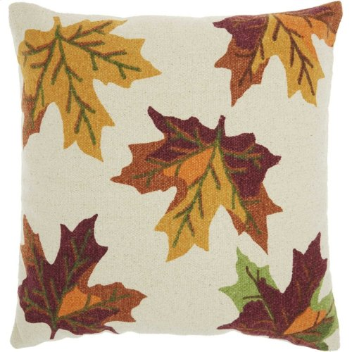 "Home for the Holiday Dl512 Multicolor 20"" X 20"" Throw Pillows"