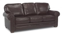 Harrison Leather Sofa with Nailhead Trim