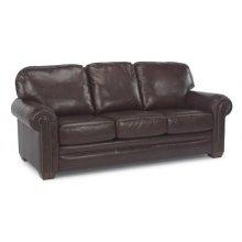 Harrison Leather Sofa with Nailhead Trim