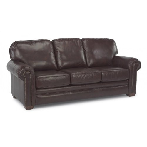 327031 in by Flexsteel in Bremerton, WA - Harrison Leather Sofa with ...