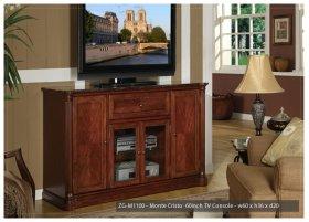 "Monte Carlo 55"" TV Cart"