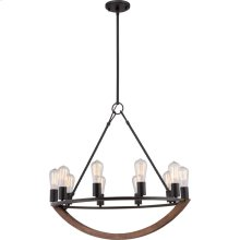 Anchor Chandelier in Imperial Bronze