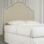 Custom Uph Beds Vienna Arched King Headboard