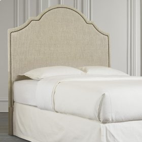 Custom Uph Beds Barcelona Bonnet Twin Headboard