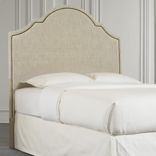 Custom Uph Beds Santa Cruz Queen Arched Bed
