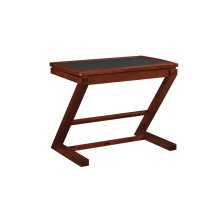 Caz desk with a sliding drawer perfect for a keyboard or laptop and has con...
