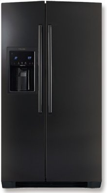 Standard-Depth Side-By-Side Refrigerator with Wave-Touch Controls