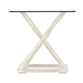 Coastal Living Resort Driftwood Flats End Table In Nautical White