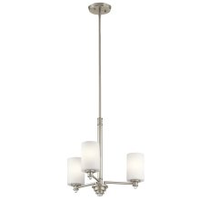 Joelson Collection Joelson 3 Light Chandelier NI