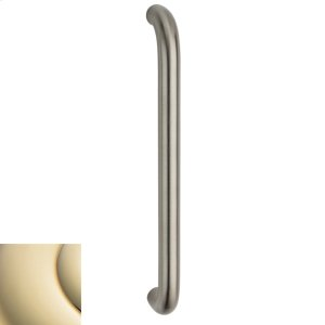 Lifetime Polished Brass Contemporary Pull Product Image