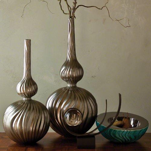 Magura Vase-Metallic-Lg