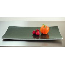 Stone Plateware Plate 9x17 / Green Gray Granite