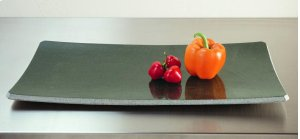 Stone Plateware Plate 9x17 / Green Gray Granite Product Image