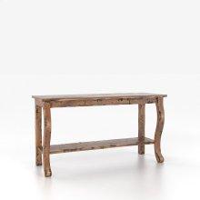 Rectangular sofa table