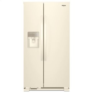 Whirlpool® 36-inch Wide Side-by-Side Refrigerator - 24 cu. ft. - Biscuit-on-Biscuit - BISCUIT-ON-BISCUIT
