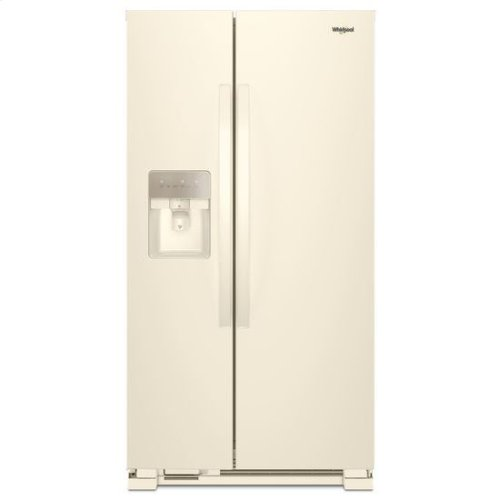Whirlpool® 36-inch Wide Side-by-Side Refrigerator - 24 cu. ft. - Biscuit-on-Biscuit