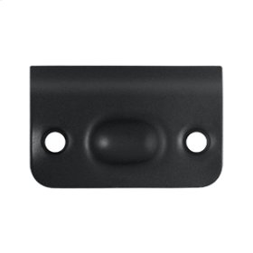 Strike Plate for Ball Catch and Roller Catch - Paint Black