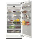 MieleMasterCool(TM) refrigerator For high-end design and technology on a large scale.