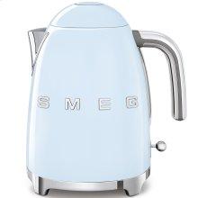 Smeg 50s Retro Style Design Aesthetic Electric Kettle, Pastel Blue