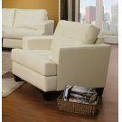 Samuel Transitional Cream Chair Product Image